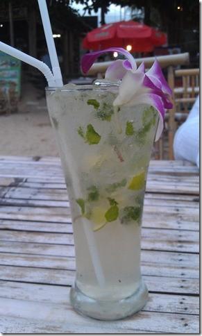Бодрящий мохито с острова Самуи:)